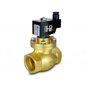 Magnetventil till ånga och hög temp. LH40 DN40 200C 1,5 tum