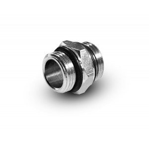 Niipple 1/4 - 1/4 inch G02-G02 O-ringar