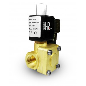 Magnetventil öppen 2K15 NO 1/2 tum 230V eller 12V 24V