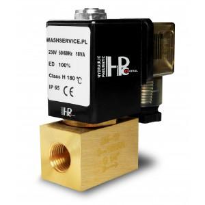 Magnetventil 2M08 1/4 tum 0-16bar 230V 24V 12V