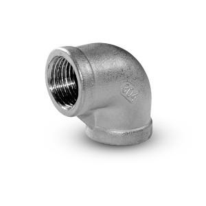 Invändig gänga av rostfritt stål 3/8 tum