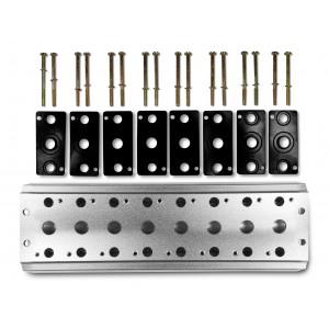 Samlingsplatta för att ansluta 8 ventiler 1/4 serie 4V2 4A gruppventilanslutning 5/2 5/3