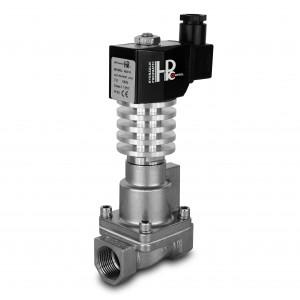 Magnetventil till ånga och hög temp. RHT15-SS DN15 300C 1/2 tum