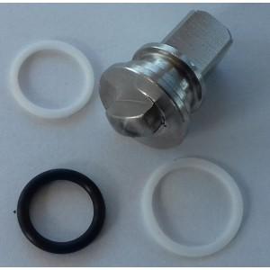 Reparationssats för högtrycks 3-vägs kulventil 1/4 tums ss304 HB3