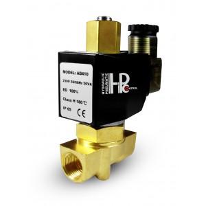 Magnetventil öppen 2N10 NO 3/8 tum 0-10 bar 230V 24V 12V 42V 110V