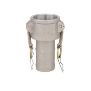 Camlock-kontakt - typ C 1 1/4 tum DN32 Aluminium