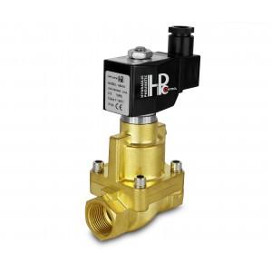 Magnetventil till ånga och hög temp. öppen RH25-NO DN25 200C 1 tum