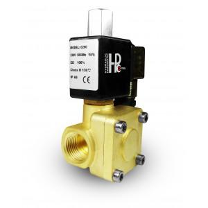 Magnetventil 2K25 öppen NO 1 tum 230V eller 12V 24V