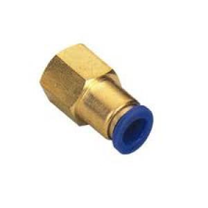 Plugnippel slang 8 mm intern tråd 1/4 tum PCF08-G02