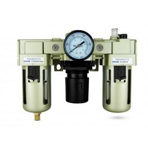 Filtrera dehydrator regulator smörjare FRL 1/2 tum inställd på luft AC4000-04