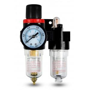 Filtrera dehydrator regulator smörjare FRL 1/4 tum inställd på luft AFC2000