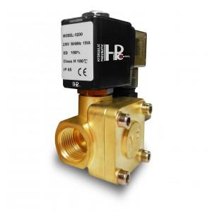 Magnetventil 2K25 1 tum 230V eller 12V 24V