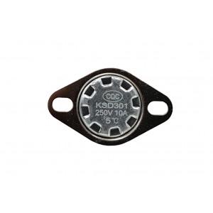 Bimetaltermostat, NC-temperatursensor 5 ℃ 10A 230VAC typ KSD301