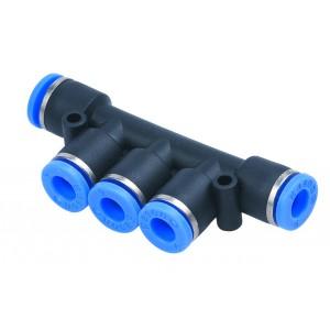 Distributör, pluggnippel PK10 slang 10mm