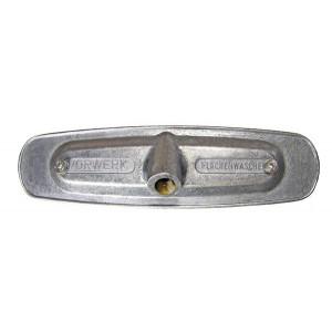 Aluminium monteringsplatta att borsta Vorwerk