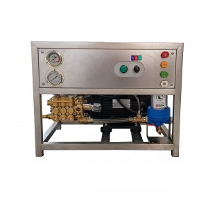 Ställ in pump och motor på ramen för att tvätta med tillbehör 13 l / min 150 bar motsvarande CAT350