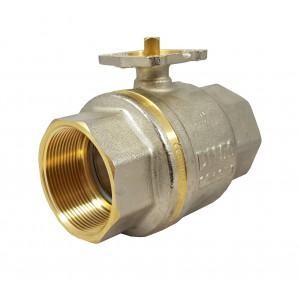 Kulventil 2 tum DN50 PN25 monteringsplatta ISO5211