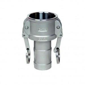 Camlock-kontakt - typ C 1 tum DN25 SS316