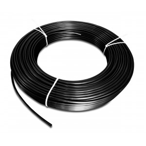 Polyamid pneumatisk slang PA Tekalan 10/8 mm 1m svart