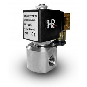 Högtrycks magnetventil HP20 1/4 tum 230V 12V 24V