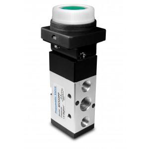 Manuell ventil 5/2 MV522PP 1/4 tums manöverdon