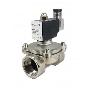 Magnetventil 2N32-M-SS DN32 1 1/4 tum rostfritt stål SS304 Viton