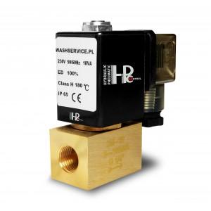 Magnetventil 2M10 3/8 tum 0-16bar 230V 24V 12V