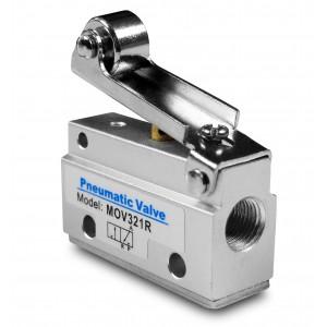 Manuell ventil 3/2 MOV321R 1/8 tums manöverdon
