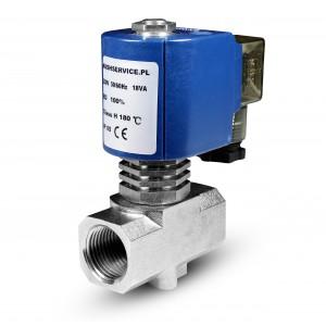 Magnetventil för ånga RV15 1/2 tum 180C