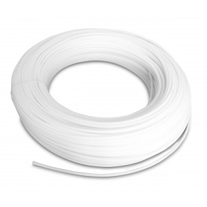 Polyamid pneumatisk slang PA Tekalan 12/10 mm 1m vit