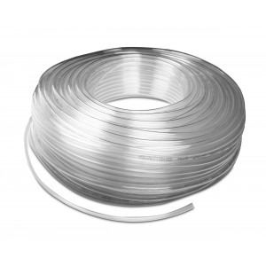 Polyuretan pneumatisk slang PU 8/5 mm 1m transp.