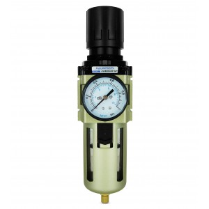 Filtrera dehydrator reduktionsregulator manometern 1/2 tum AW4000-04