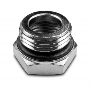 Reduktion 1/2 - 1/8 tum med O-ring