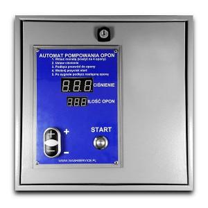 Elektronisk automatisk däckinflation för montering på väggen - fri version