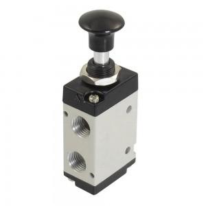 Manuell ventiltryck 5/2 4L210 1/4 tum för manöverdon