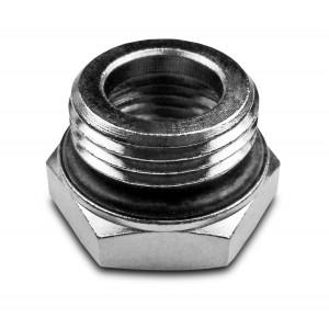 Reduktion 1/2 - 3/8 tum med o-ring