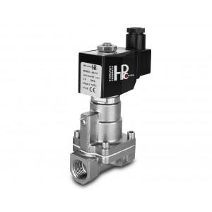 Magnetventil till ånga och hög temp. RH15-SS DN15 200C 1/2 tums rostfritt stål SS304