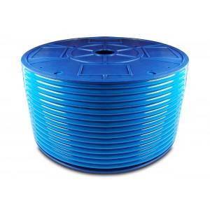 Polyuretan pneumatisk slang PU 6/4 mm 200m blå