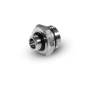 Reduktionsnippel 1/4 - 1/8 tums G01-G02 O-ringar