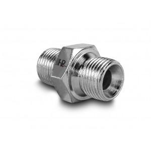 Nippel hydrauliskt tryck 3/8 - 3/8 tum