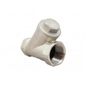Rostfritt stål kulventil DN15 1/2 tums monteringsplatta ISO5211