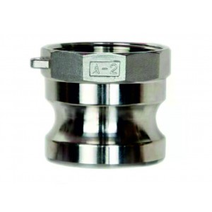 Camlock-kontakt - typ A 1/2 tum DN15 SS316
